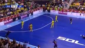 ¡El increíble taconazo de Ferrao que dio la Copa del Rey al Barça!