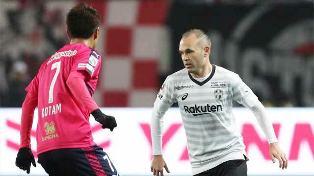 Iniesta y Villa no pudieron con el equipo de Lotina
