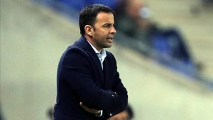 Javi Calleja se quejó del arbitraje del Espanyol-Villarreal