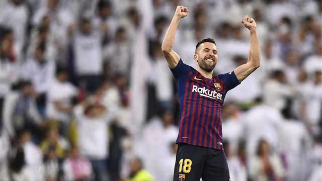 Jordi Alba: Hemos hecho un gran partido