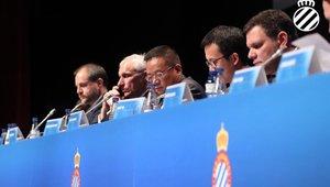 Junta de Accionistas del RCD Espanyol en diciembre de 2019