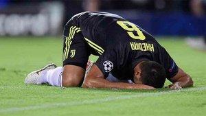 Khedira se ha lesionado en la Juventus
