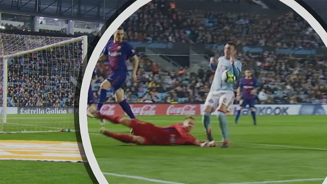 LALIGA | Celta - FC Bracelona (2-2): El gol de Iago Aspas
