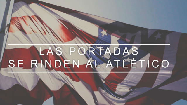 Las portadas deportivas se rinden a la victoria del Atlético