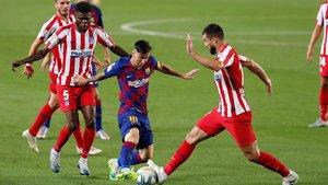 Leo Messi no ha descansado ningún solo minuto tras el parón
