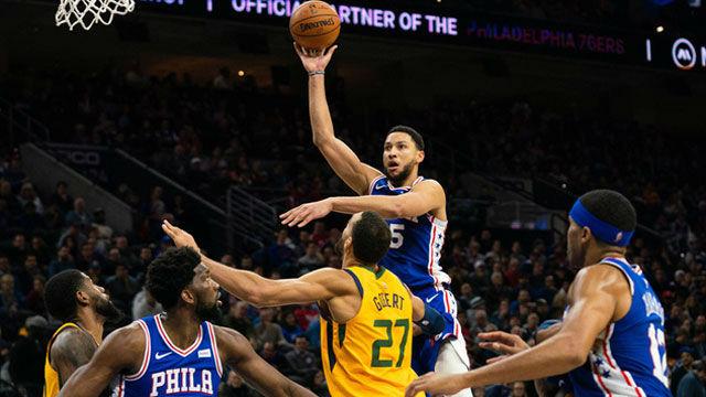 Los 76ers neutralizan a los Jazz y ya carburan en el Este