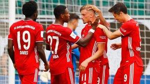 Los bávaros pueden llevarse hoy el doblete de Alemania