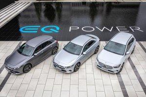 Los nuevos Mercedes híbridos enchufables
