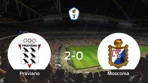 Los tres puntos se quedan en casa: Praviano 2-0 Mosconia
