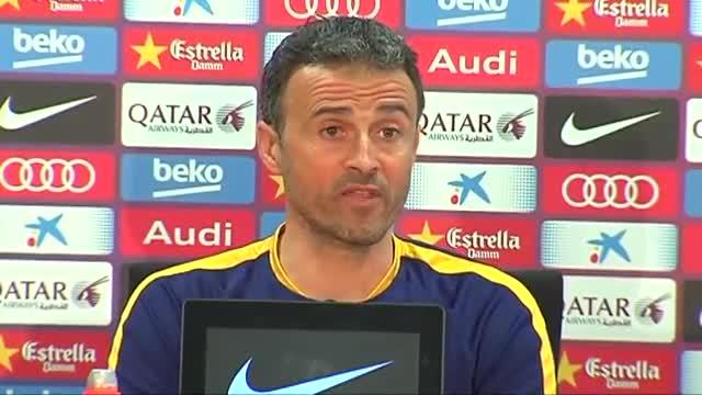 Luis Enrique sobre Alves: Su intención no era la de molestar a nadie