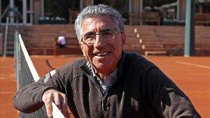 Manuel Orantes, leyenda del tenis español