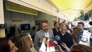 Màxim Huertas, ministro de Cultura y Deportes, podría renuncair al cargo