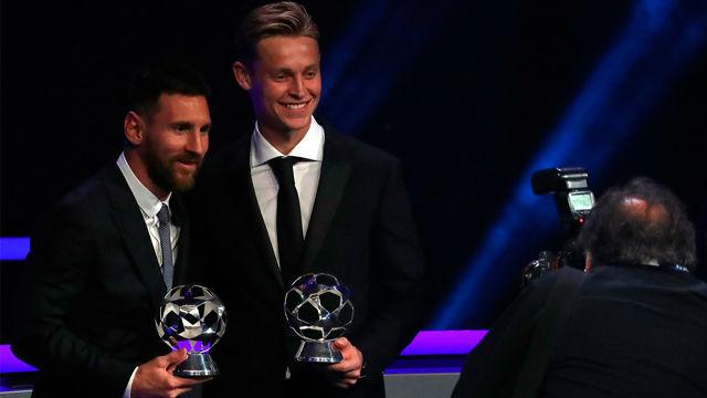 Messi elogia a De Jong