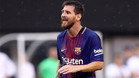 Messi lideró al Barça ante el Betis