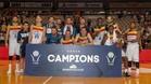 El MoraBanc Andorra se proclamó campeón de la Lliga Catalana