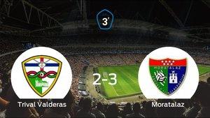 El Moratalaz se lleva tres puntos a casa tras vencer 2-3 al Trival Valderas