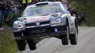 Ogier en el Rally de Finlandia