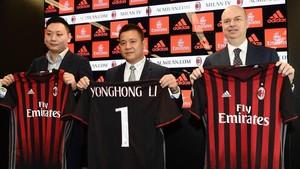 El ex presidente del Milan, Li Yonghong ,no pagó la deuda de 32 millones al grupo inversor Elliott