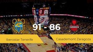 Primera jornada de la Liga ACB: Iberostar Tenerife 91 - 86 Casademont Zaragoza