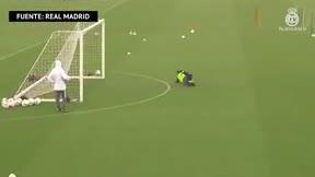 El Real Madrid afina la puntería para la visita a la Real