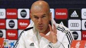 El Real Madrid tampoco levanta cabeza con Zinedine Zidane