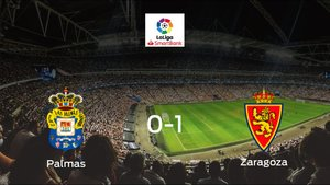 El Real Zaragoza gana en el Gran Canaria al Las Palmas (0-1)