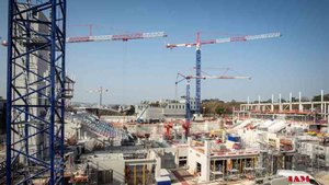 La reconstrucción del estadio de Roland Garros se espera que esté acabada para la primavera de 2019