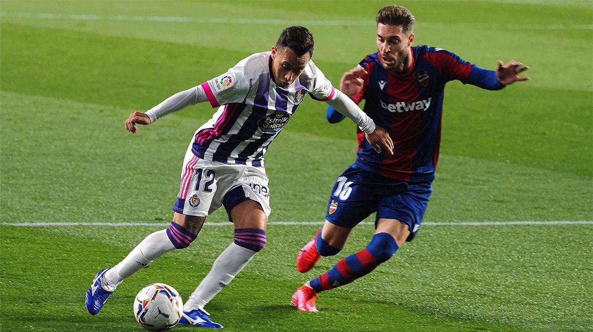 El resumen del empate entre Valladolid y Levante