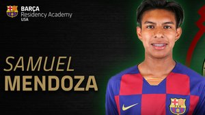 Samuel Mendoza, joven promesa del fútbol mexicano