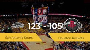 San Antonio Spurs vence a Houston Rockets (123-105)