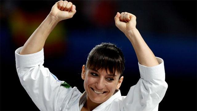 Sandra Sánchez se alza como campeona del mundo de kata a los 37 años