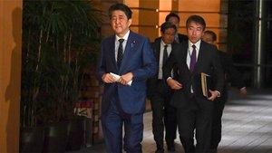 Shinzo Abe, primer ministro de Japón, pidió al COI el aplazamiento de los Juegos de Tokio 2020