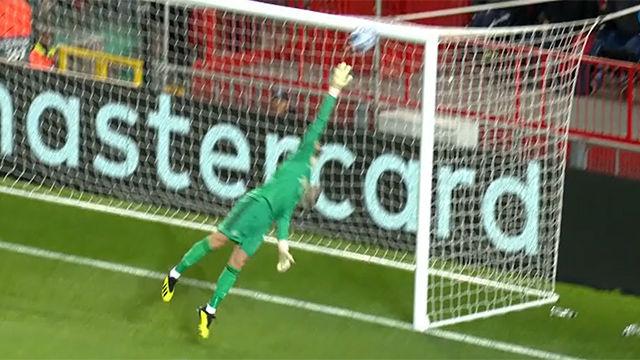 El show de De Gea ante la Juve que salcó al Manchester de recibir una goleada