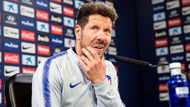 Simeone: La sanción a Costa me parece exagerada