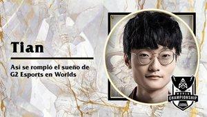 Tian, el jungla que venció a G2