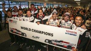 Toyota, campeón del WEC 2018-19