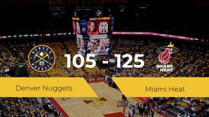 Triunfo de Miami Heat en el Hp Field House ante Denver Nuggets por 105-125