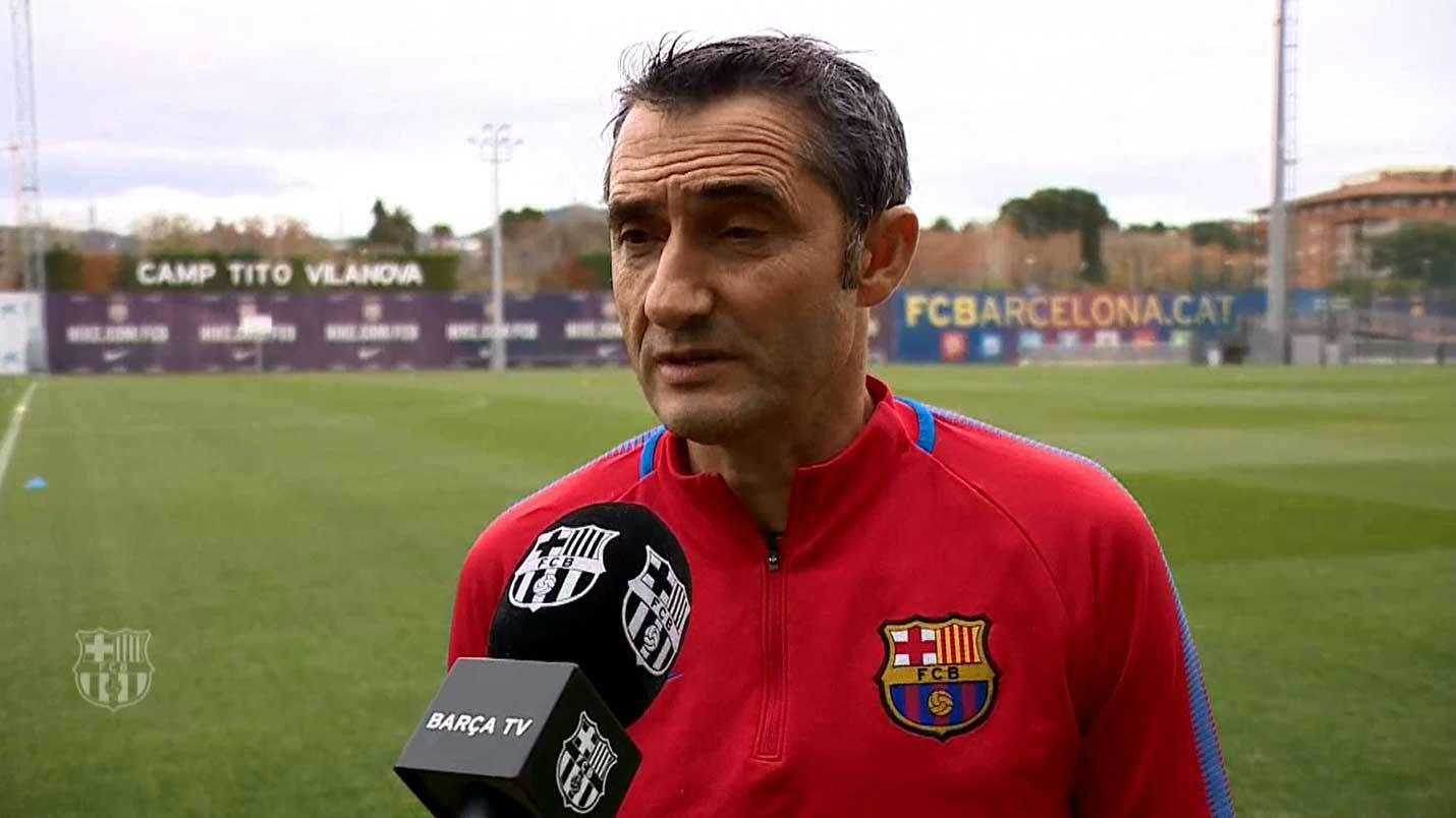 Valverde: Será una eliminatoria complicada pero atractiva