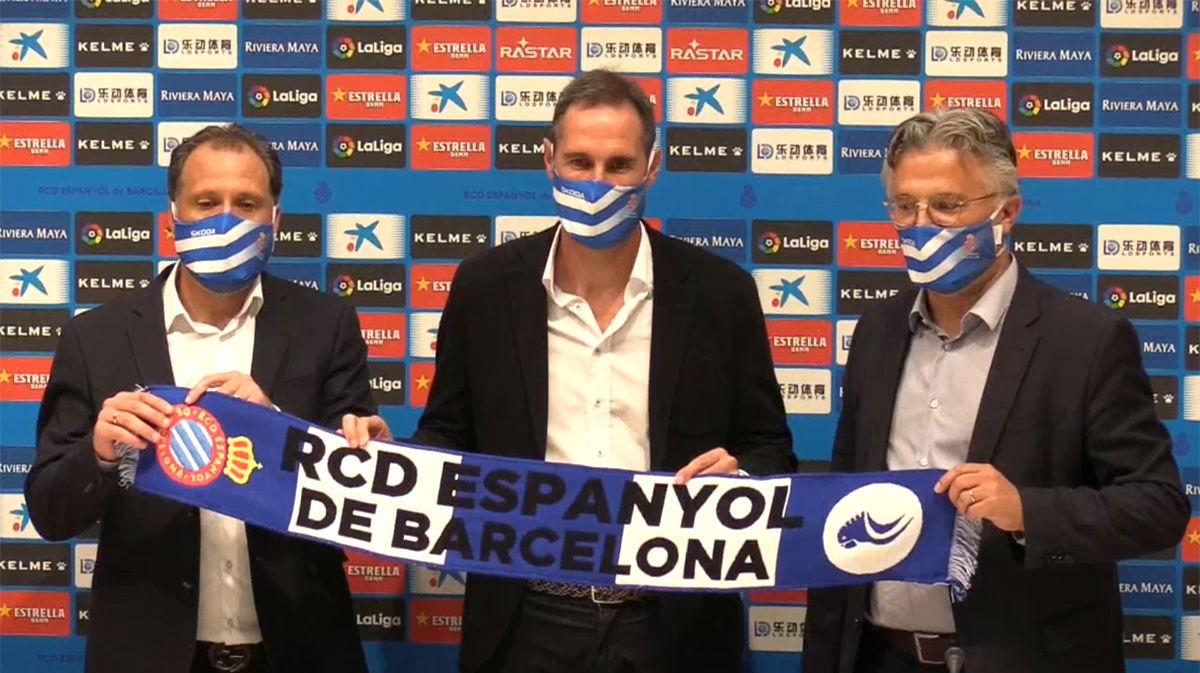 Vicente Moreno firma por el Espanyol para las tres próximas temporadas