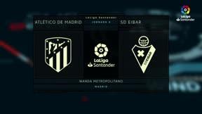 El video del desastre del Atlético ante el Eibar. Simeone y Griezmann se meten en un lío