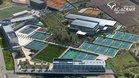 Vista aérea de la Rafa Nadal Academy