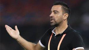 Xavi se postula para ser el próximo entrenador del Barça