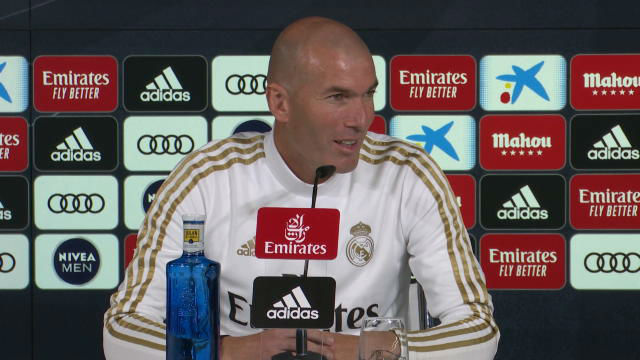 Zidane habló sobre Bale en rueda de prensa