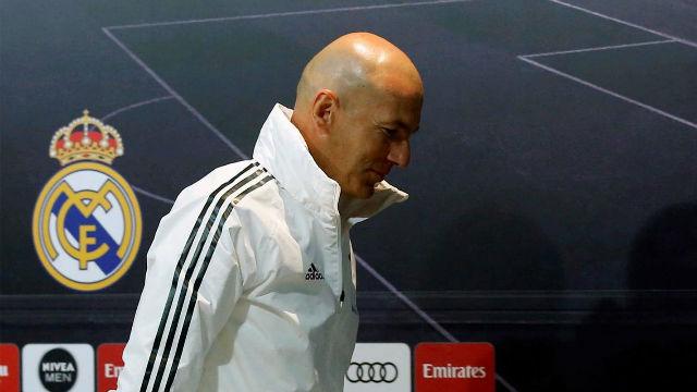 Zidane: De 20 preguntas ninguna ha sido del partido de mañana