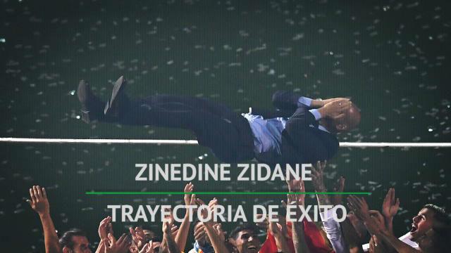 Zidane, una trayectoria inmaculada
