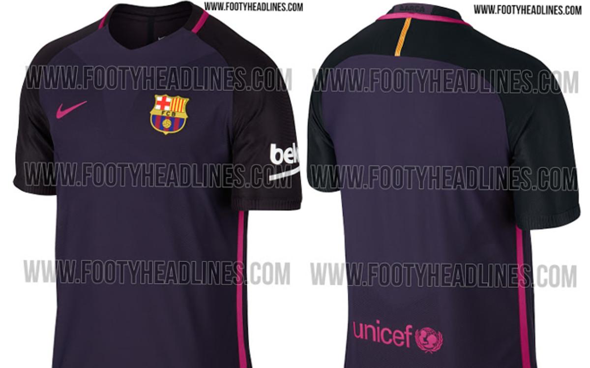 8f8eb329b4d26 Esta es la segunda camiseta del FC Barcelona 2016 2017