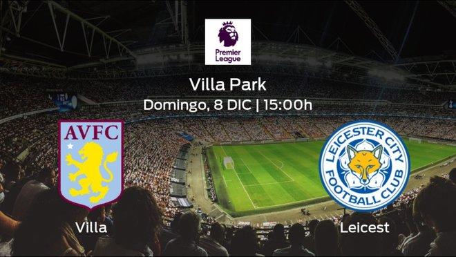 Previa del encuentro: el Aston Villa recibe al Leicester en la decimosexta jornada