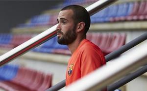 Aleix Vidal se aleja cada día más del Barça
