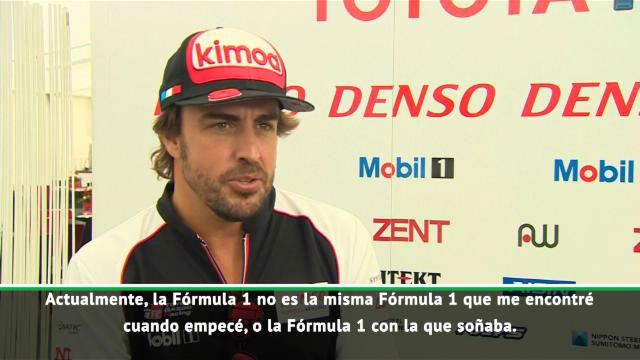 Alonso: Tengo desafíos más grandes que la Fórmula 1