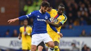André Gomes debutó con el Everton con victoria